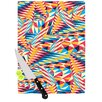 KESS InHouse Painting Life by Danny Ivan Abstract Cutting Board