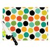 KESS InHouse Retro Dots Repeat by Daisy Beatrice Cutting Board