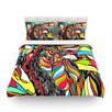KESS InHouse Tropical Cock by Danny Ivan Featherweight Duvet Cover