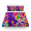 KESS InHouse Shooting Light by Danny Ivan Rainbow Duvet Cover