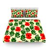 KESS InHouse No More Peonies by Sreetama Ray Featherweight Duvet Cover