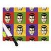 KESS InHouse Johnny Depop by Roberlan Pop Art Cutting Board