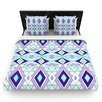 KESS InHouse Geometric Flow by Pom Graphic Woven Duvet Cover