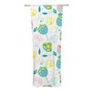 KESS InHouse Indie Floral Curtain Panels (Set of 2)