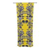 KESS InHouse Bloom Flower Curtain Panels (Set of 2)