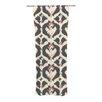 KESS InHouse Moonrise Abikat Curtain Panels (Set of 2)