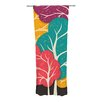 KESS InHouse Happy Forest Curtain Panels (Set of 2)