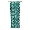 KESS InHouse Bubbles Made of Paper Curtain Panels (Set of 2)