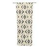 KESS InHouse Moonrise Dia ikat Curtain Panels (Set of 2)