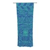 KESS InHouse Beach Blanket Confusion Curtain Panels (Set of 2)