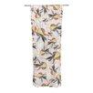 KESS InHouse Fuchsia on the Wind Curtain Panels (Set of 2)