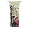 KESS InHouse I Have But Two Loves Curtain Panels (Set of 2)