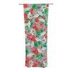 KESS InHouse Flying Tulips Curtain Panels (Set of 2)