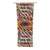 KESS InHouse Texturize Curtain Panels (Set of 2)