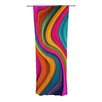 KESS InHouse Love Color Curtain Panels (Set of 2)