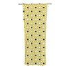 KESS InHouse Tossing Pennies II Curtain Panels (Set of 2)
