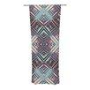 KESS InHouse Watercolor Kaleidoscope Curtain Panels (Set of 2)
