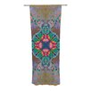 KESS InHouse Flowery Curtain Panels (Set of 2)