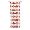 KESS InHouse Garden Ladybugs Curtain Panels (Set of 2)