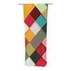 KESS InHouse Colorful Curtain Panels (Set of 2)