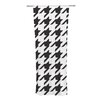 KESS InHouse Spacey Houndstooth Curtain Panels (Set of 2)
