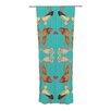 KESS InHouse Glu-Glu Curtain Panels (Set of 2)