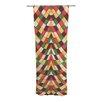 KESS InHouse Rastafarian Tile Curtain Panels (Set of 2)
