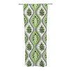 KESS InHouse Oak Leaf Curtain Panels (Set of 2)