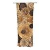 KESS InHouse Grounded Curtain Panels (Set of 2)