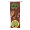 KESS InHouse Autumn Repeat Curtain Panels (Set of 2)