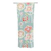 KESS InHouse Folky Floral Curtain Panels (Set of 2)