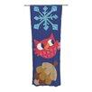 KESS InHouse Winter Repeat Curtain Panels (Set of 2)