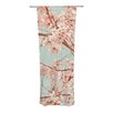 KESS InHouse Blossoms All Over Curtain Panels (Set of 2)