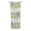 KESS InHouse Benin Curtain Panels (Set of 2)