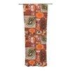 KESS InHouse Vintage Kitchen Curtain Panels (Set of 2)
