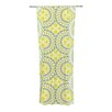 KESS InHouse Blossoming Buds Curtain Panels (Set of 2)