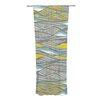 KESS InHouse Drift Curtain Panels (Set of 2)