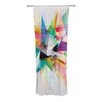 KESS InHouse Colorful Curtain Panels (Set of 2)