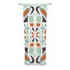 KESS InHouse Stained Glass Curtain Panels (Set of 2)