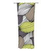 KESS InHouse Wild Brush Curtain Panels (Set of 2)