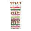 KESS InHouse Gumdrop Buttons Curtain Panels (Set of 2)