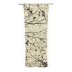 KESS InHouse Boughs Neutral Curtain Panels (Set of 2)