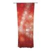 KESS InHouse Passion Fruit Curtain Panels (Set of 2)