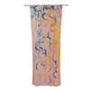 KESS InHouse Wall Flowers Curtain Panels (Set of 2)
