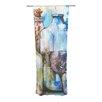 KESS InHouse Bottled Animals Curtain Panels (Set of 2)