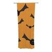 KESS InHouse Going Batty Curtain Panels (Set of 2)