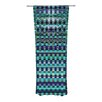 KESS InHouse New Kilim Seafoam Curtain Panels (Set of 2)