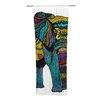 KESS InHouse Elephant of Namibia Curtain Panels (Set of 2)