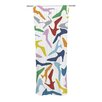 KESS InHouse Shoe Curtain Panels (Set of 2)