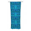 KESS InHouse Variblue Curtain Panels (Set of 2)